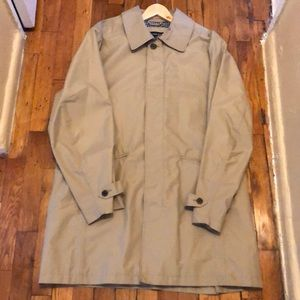 Lands' End Men's Mac Raincoat size Medium